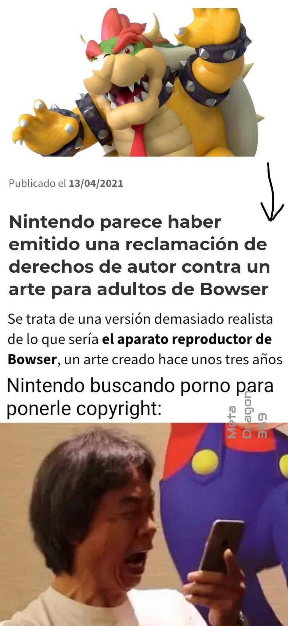 Que cojones Nintendo? - meme