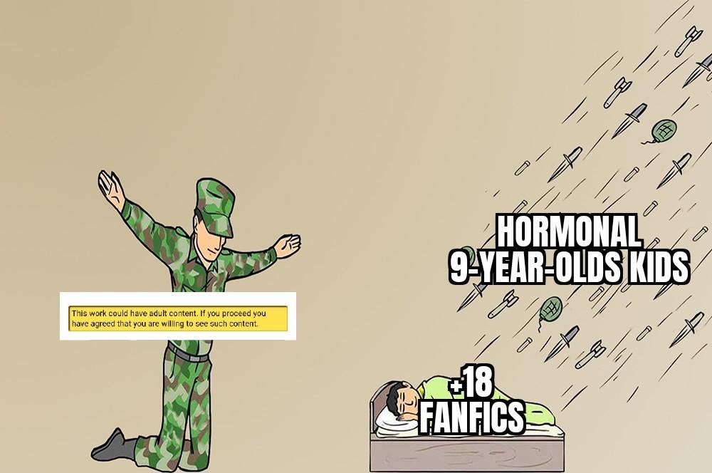 Wattpad in a nutshell: - meme