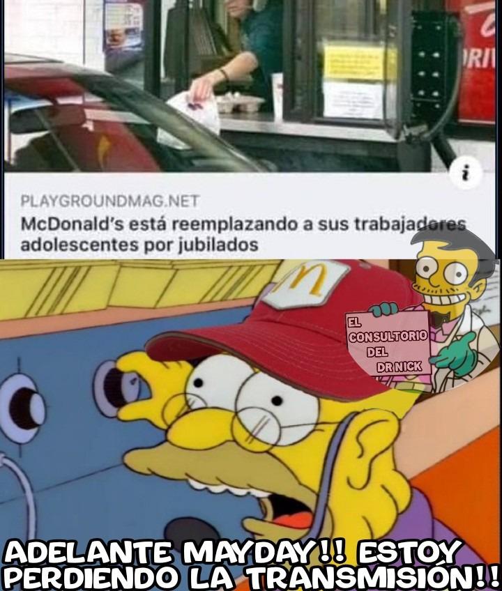 Mcdonald's lo hace posible - meme