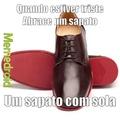 abrace um sapato