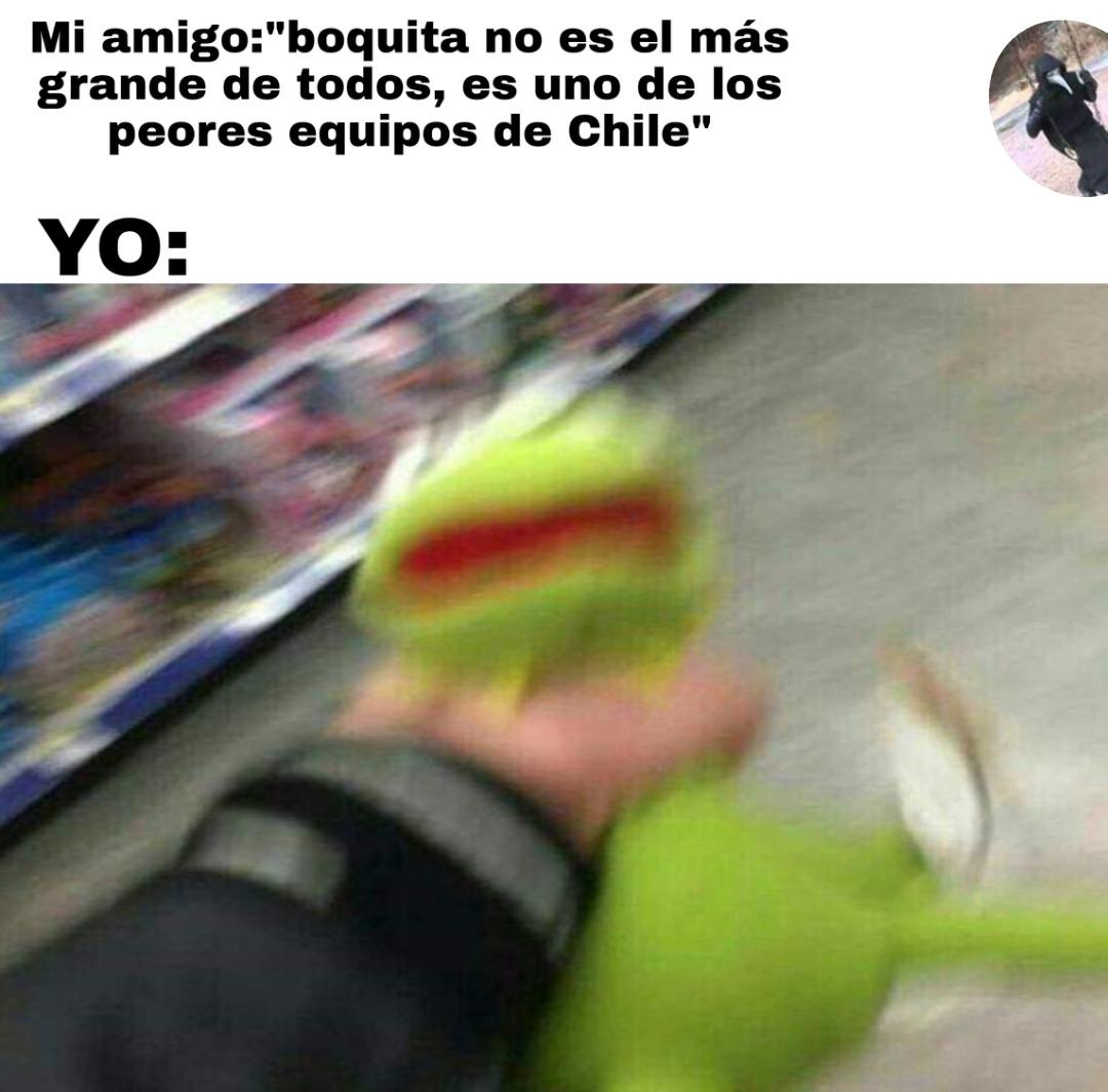 Sos el más grande - meme