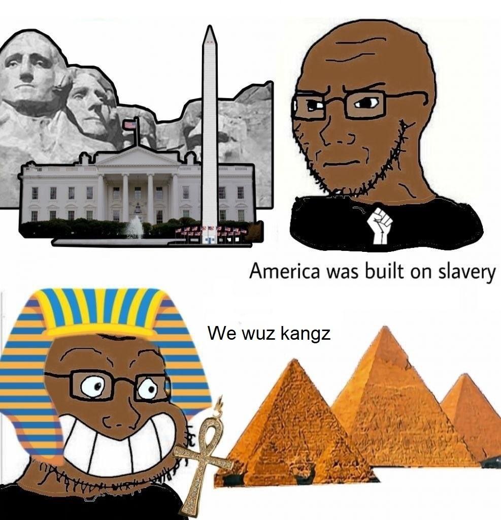 we wuz kangz - meme