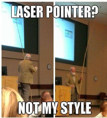 Carry a long stick - meme