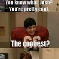 Don't ruin it Josh