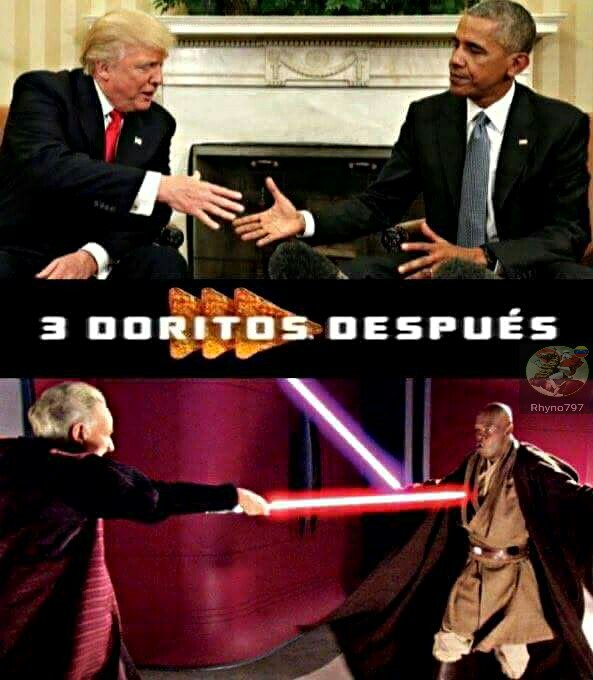 Star Wars Episode III: La Venganza de Trumpeta - meme