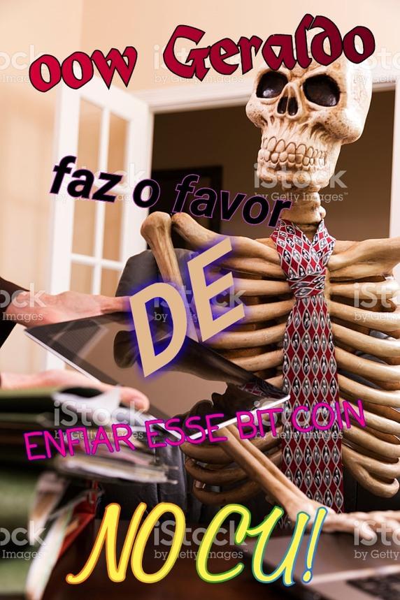 Geraldo fdp - meme