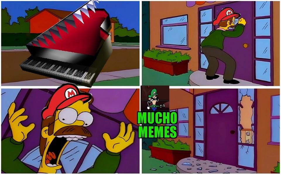 Esa verga si da miedo - meme
