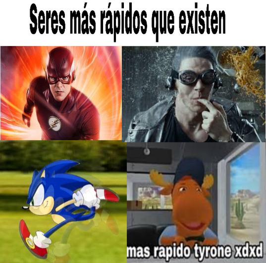Rápido - meme