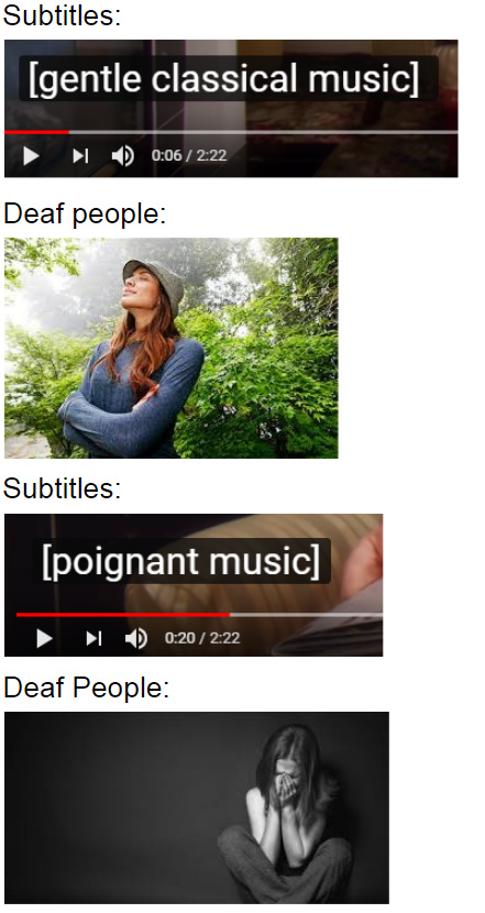 "actually saw ""poignant"" on a video's subtitles - meme"