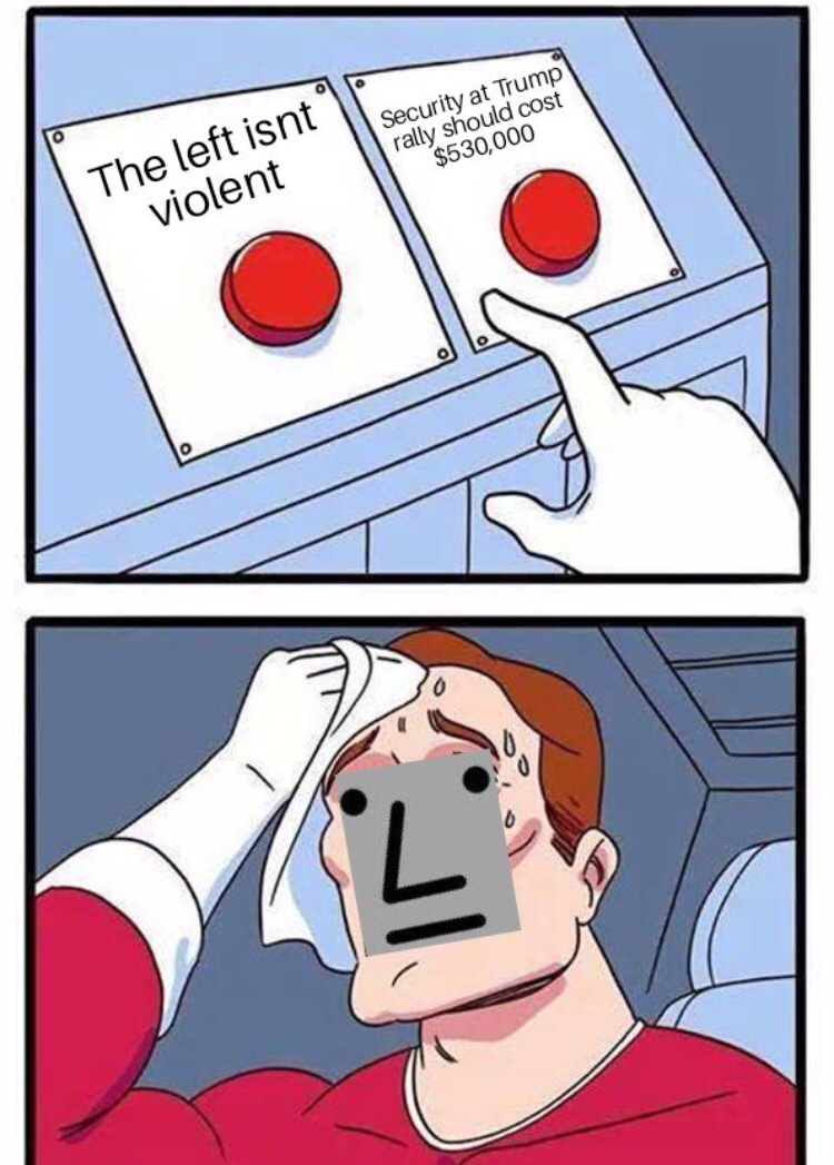 left can't meme