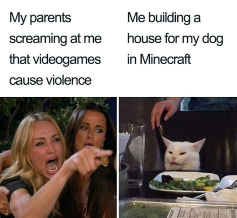 I built a mansion for mine in MC. - meme