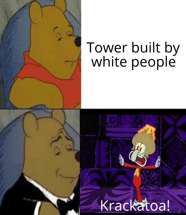 Krackatoa - meme