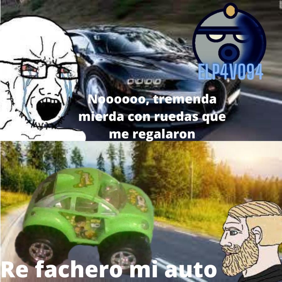 Yo quiero un auto como ese :okay: - meme