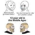 We evolve then devolve ....