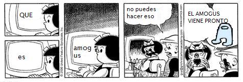 AMOGUS SUS - meme