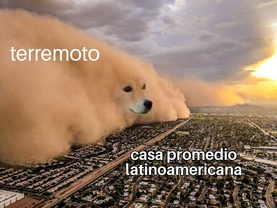 Chicos por eso hay que escapar de Latinoamérica - meme
