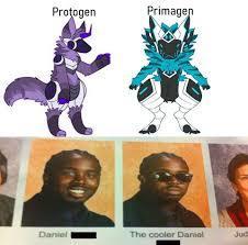protogen/primagen no es lo mismo - meme