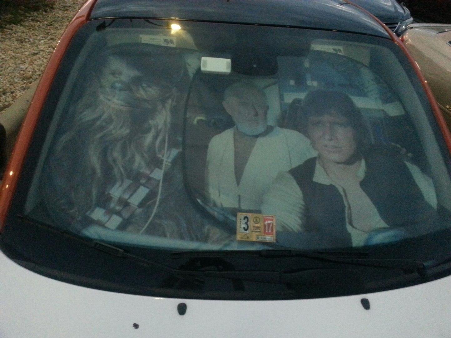 That's no windshield visor.... - meme