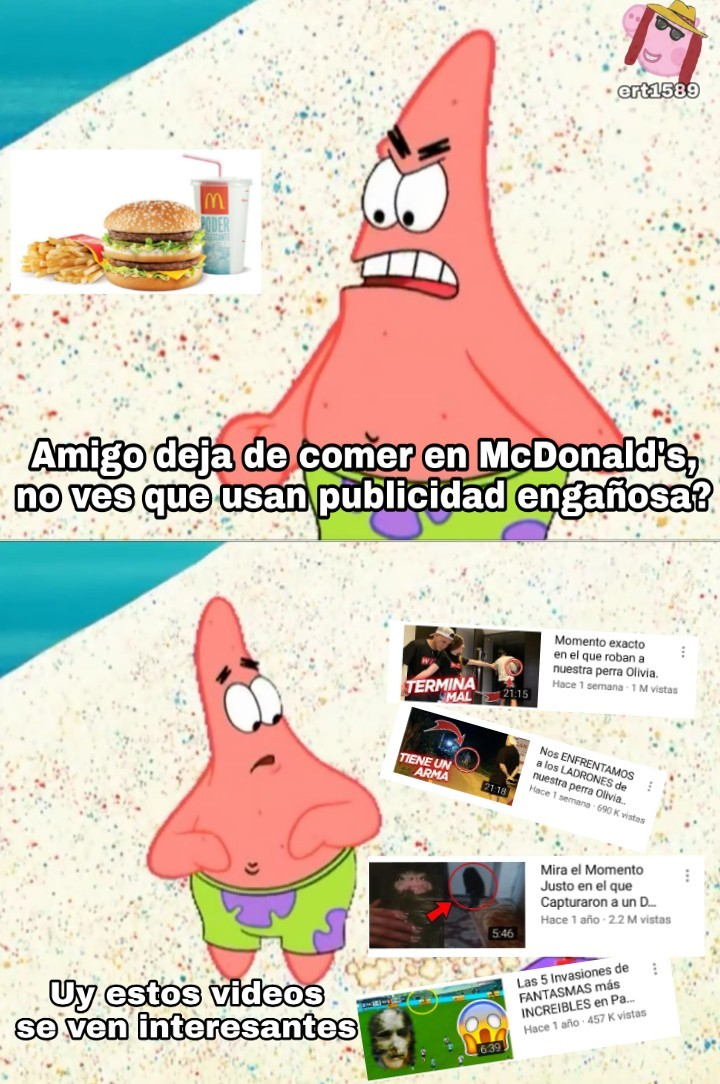 Clikbeit - meme