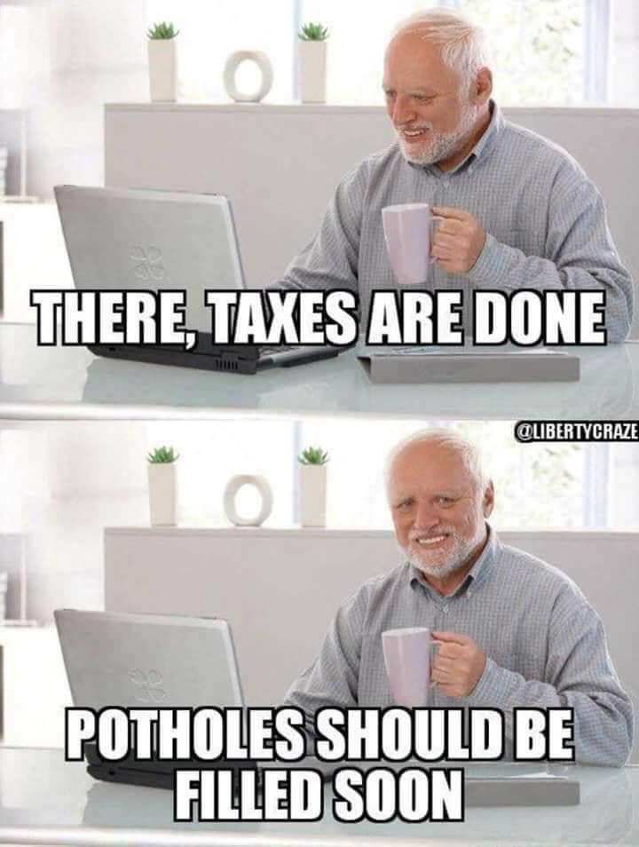Taxation! - meme