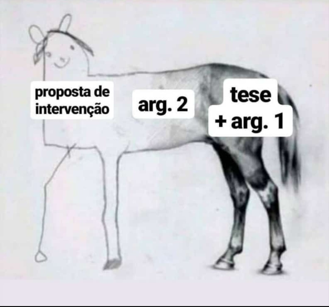 Redação - meme