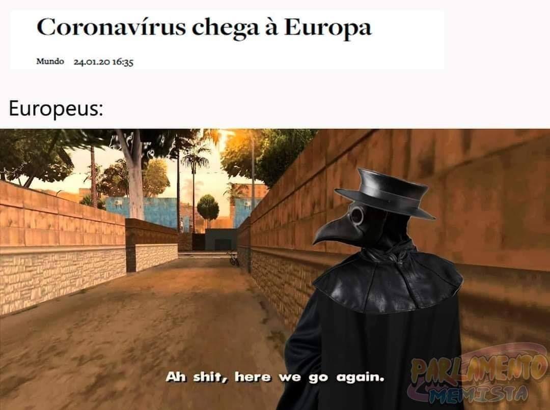 Ah shit, here die again :/ - meme