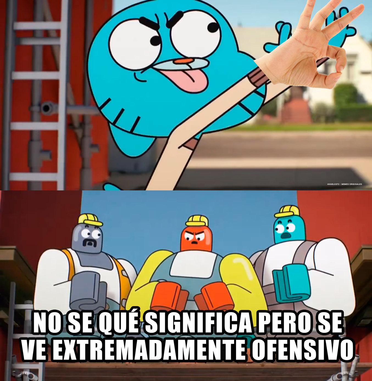 El gesto - meme