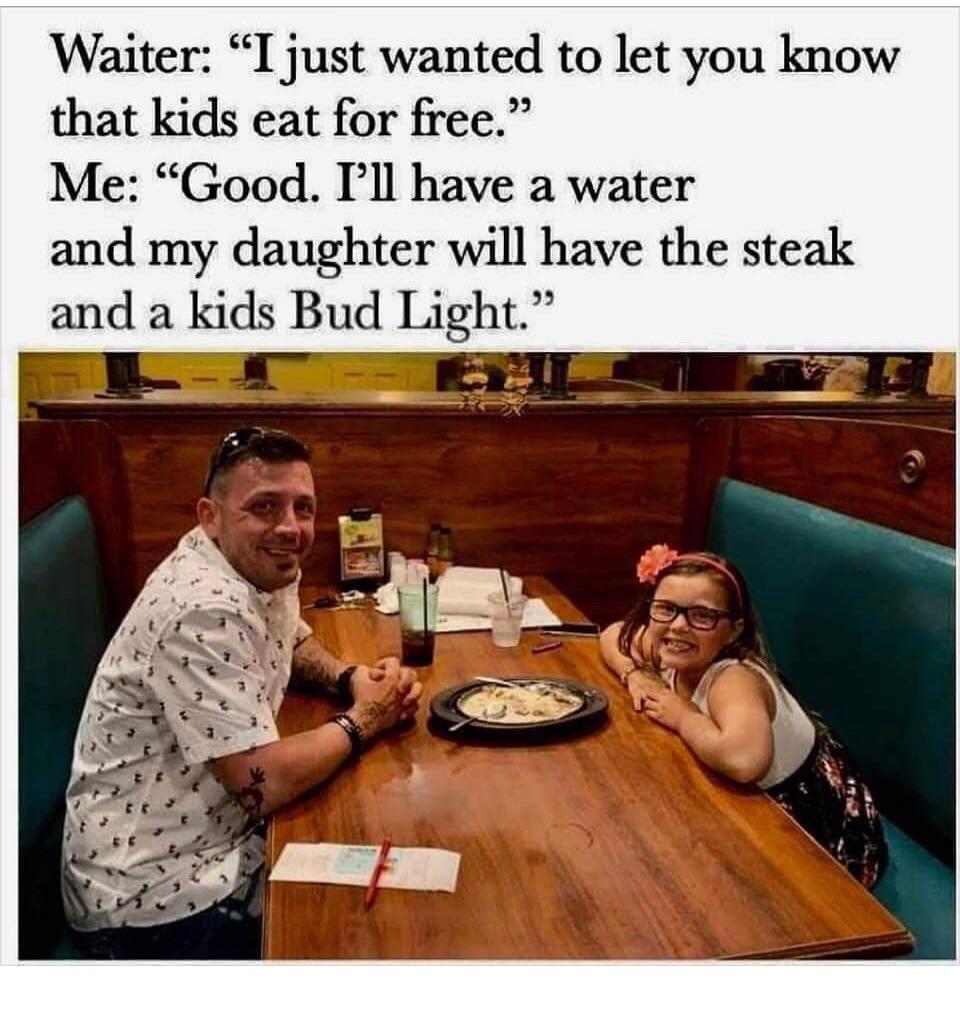 Kids Eat Free - meme
