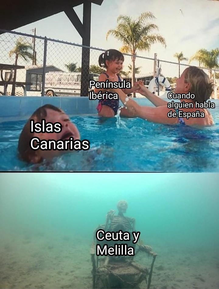 Nadie se acuerda de Ceuta y Melilla :( - meme