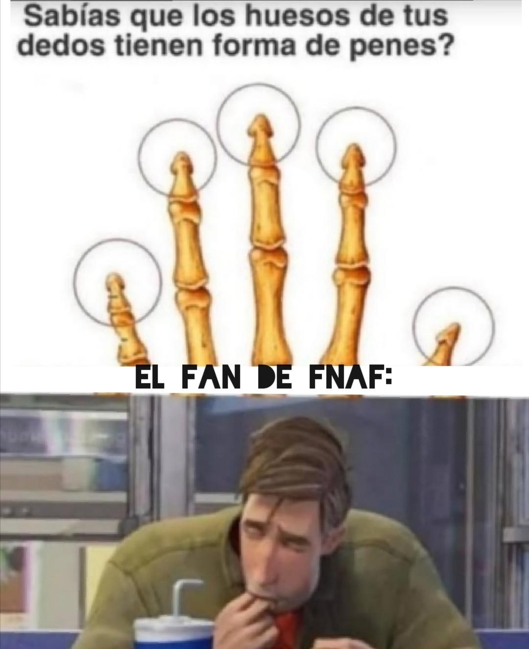 Fnaf >>>>>>>>>mierda de juego - meme