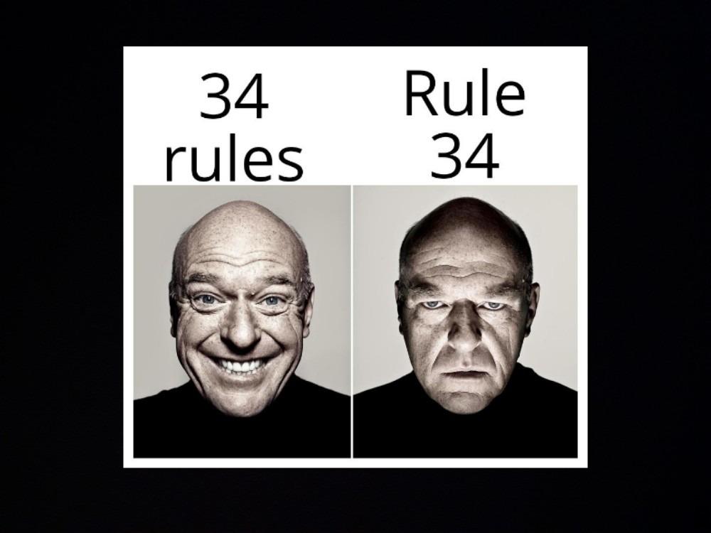 Rule 34 - meme