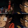 Goku é BV!? WTF??... Porra Toriyama!...