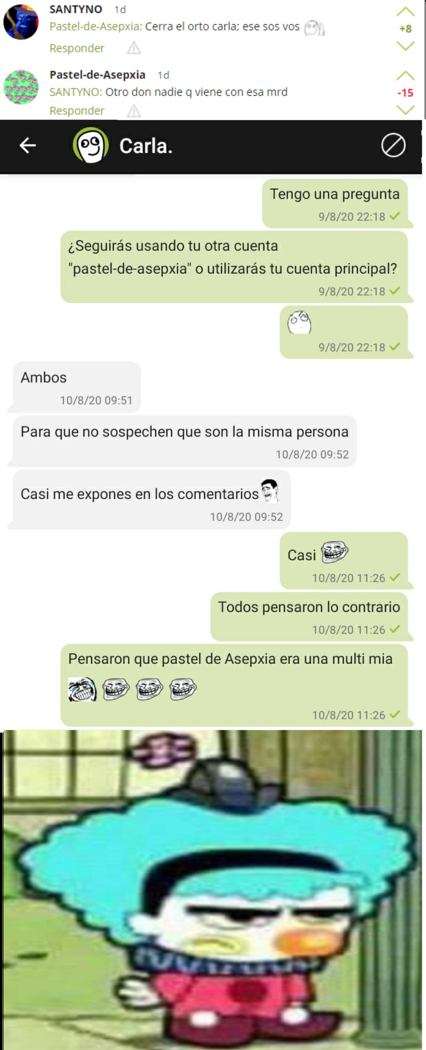 peruano tenia que ser - meme