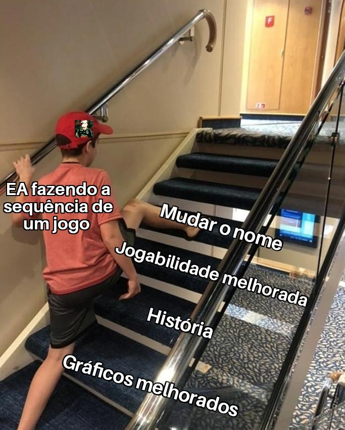 Se liga no chapéu do pai - meme