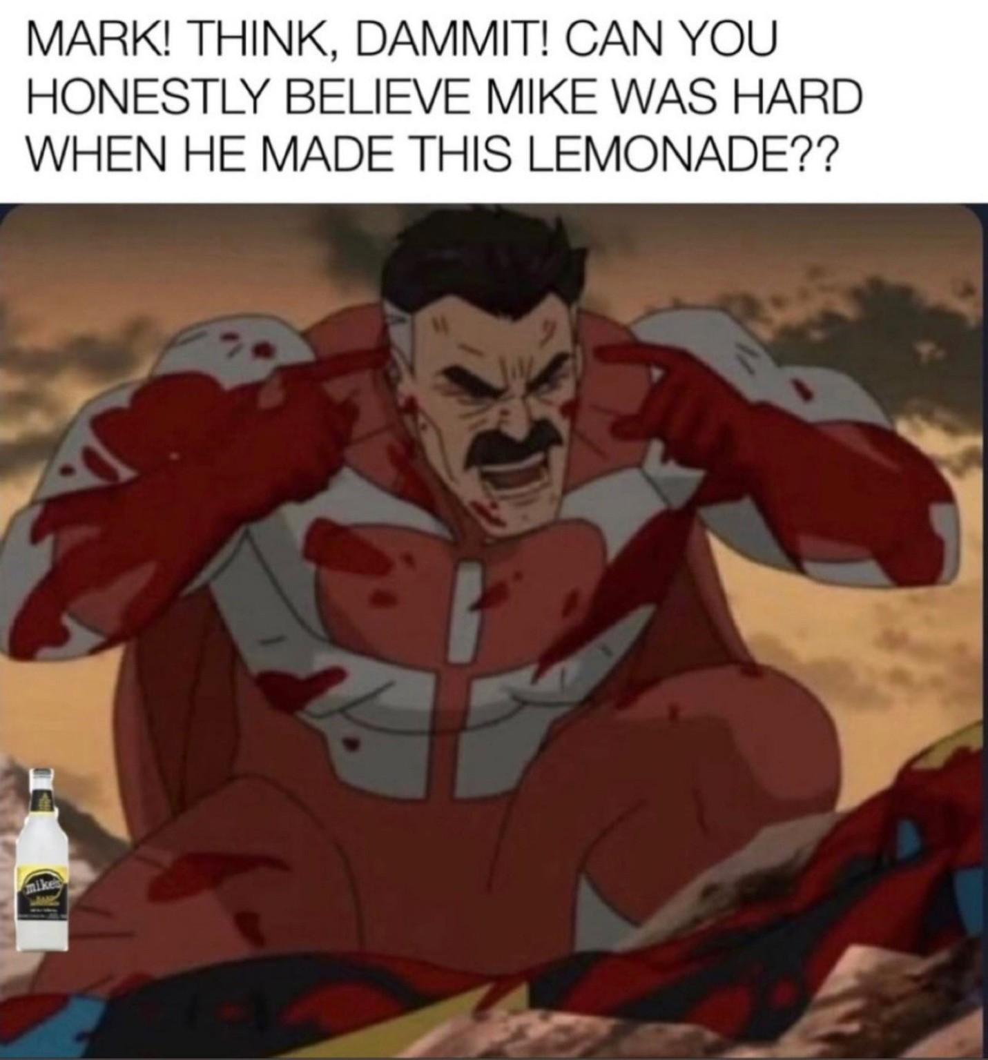 Hope he was - meme