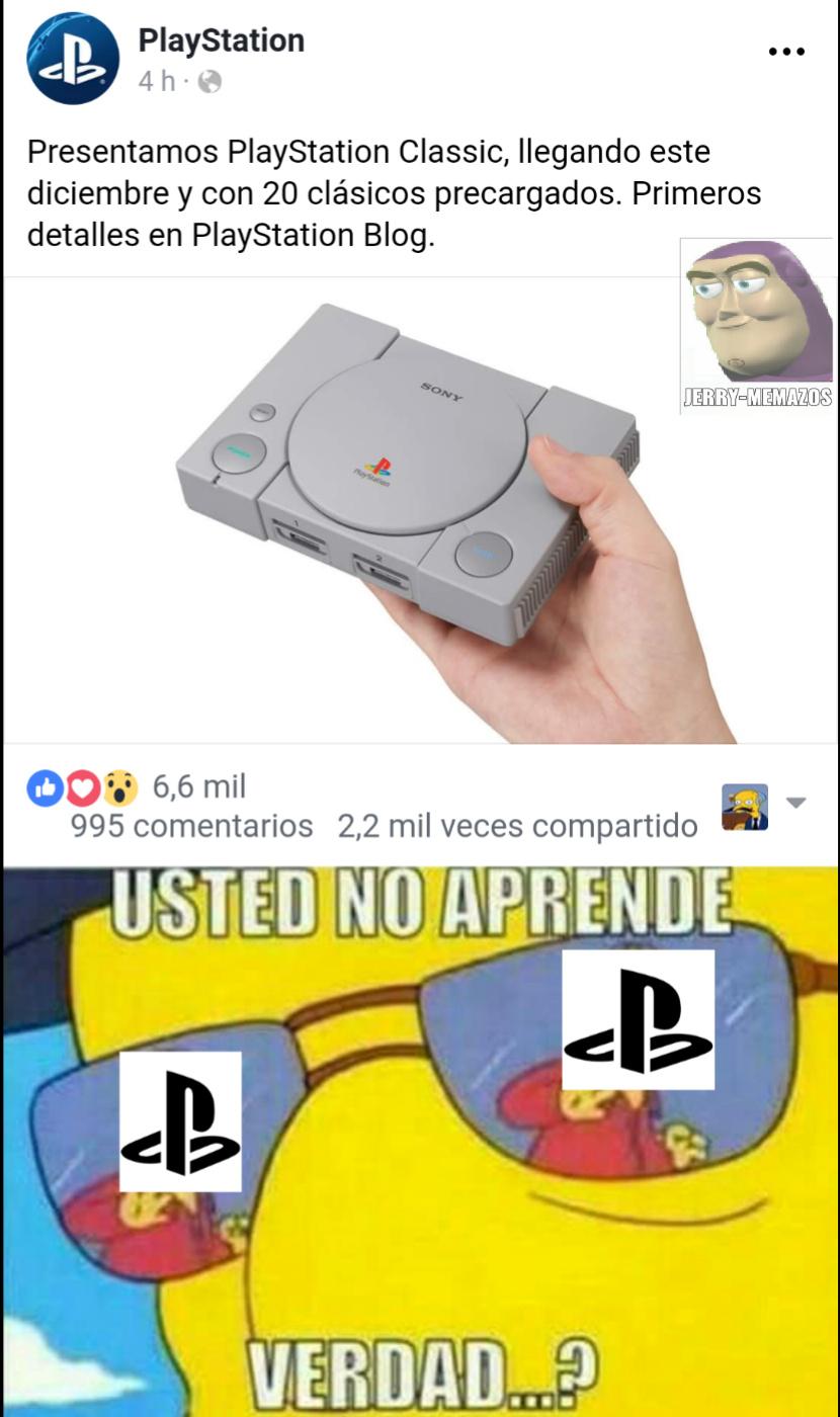 Sony es el tipo que siempre copia tareas y pasa - meme