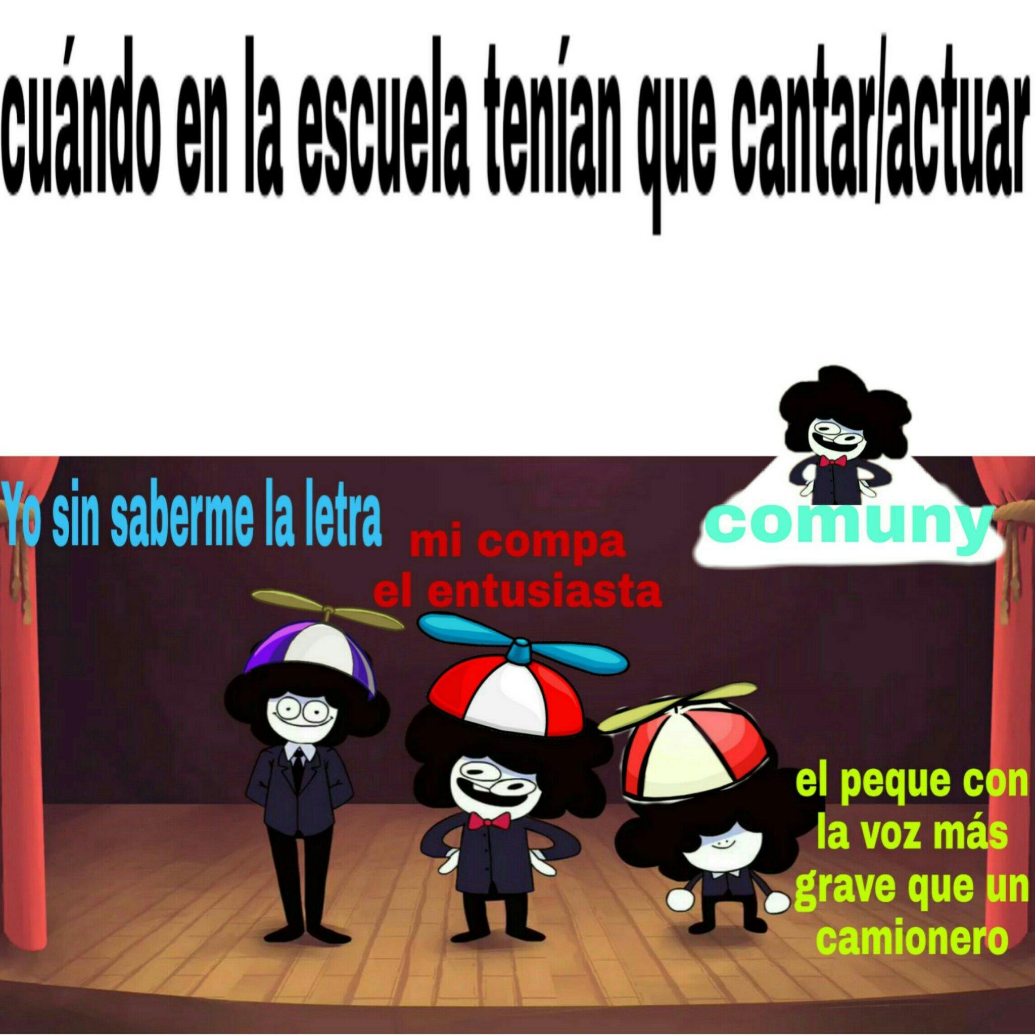 Mi escuela - meme