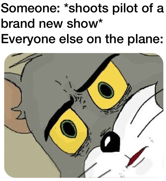 Tv show pilots are either great or crap - meme