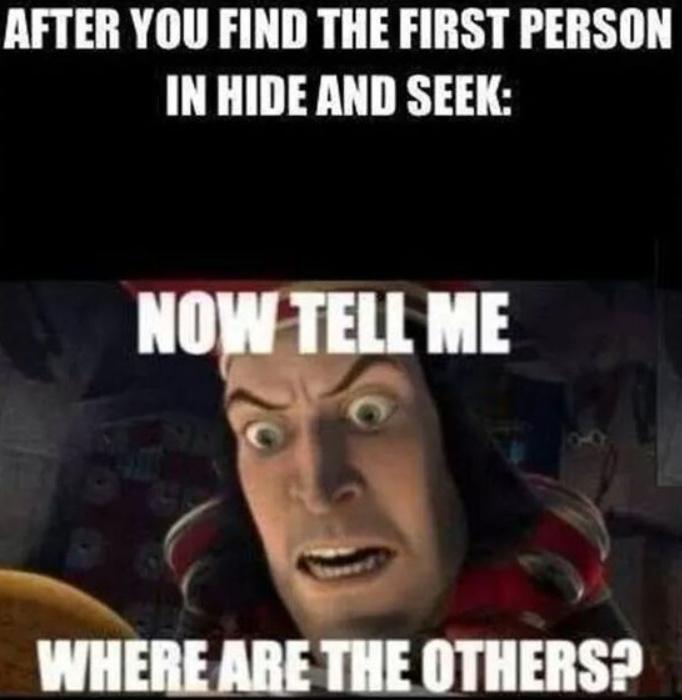 Hide - meme
