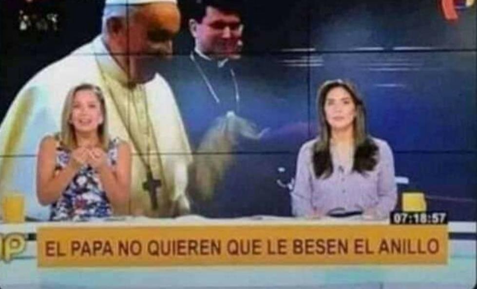 El papa NO es gei - meme