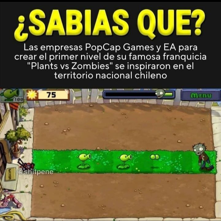 Chilenos putos - meme