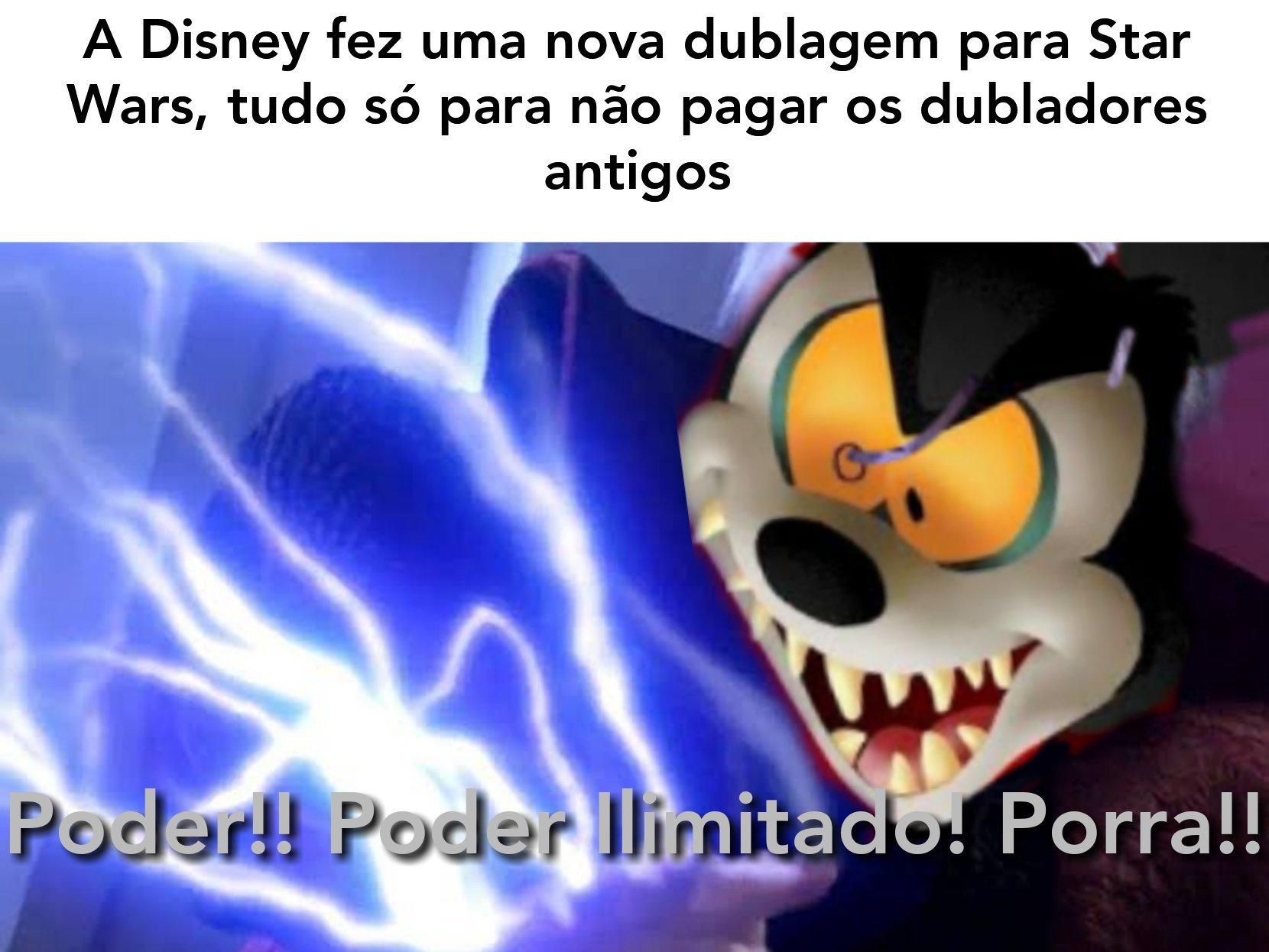 O IMPERADOR MICKEY!! - meme