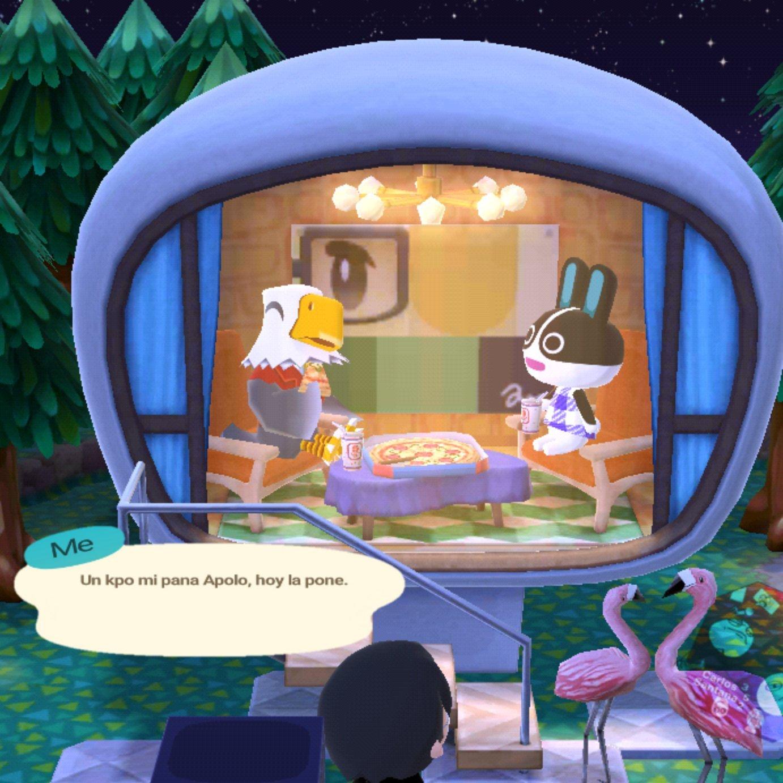 Nomás porque tenía ganas de editar la burbujita de diálogo del Animal Crossing - meme