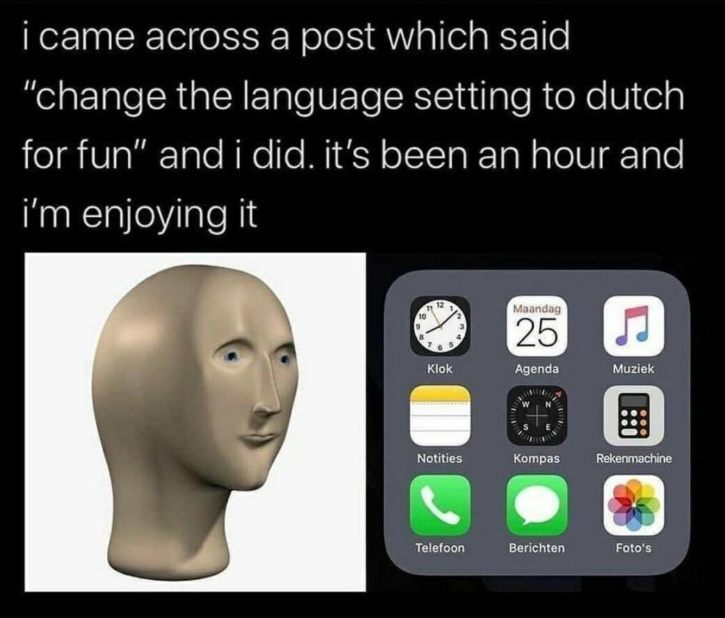 Try it, it's fun - meme