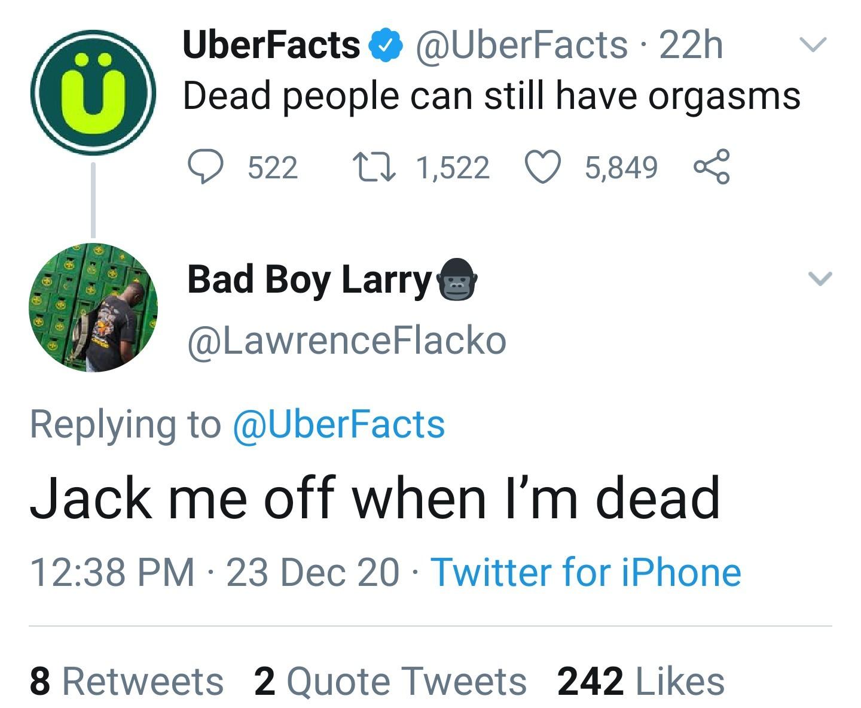 Don't burry me when I'm dead. - meme
