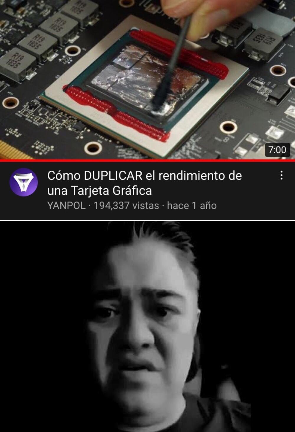 algo traumático para cualquier latino - meme