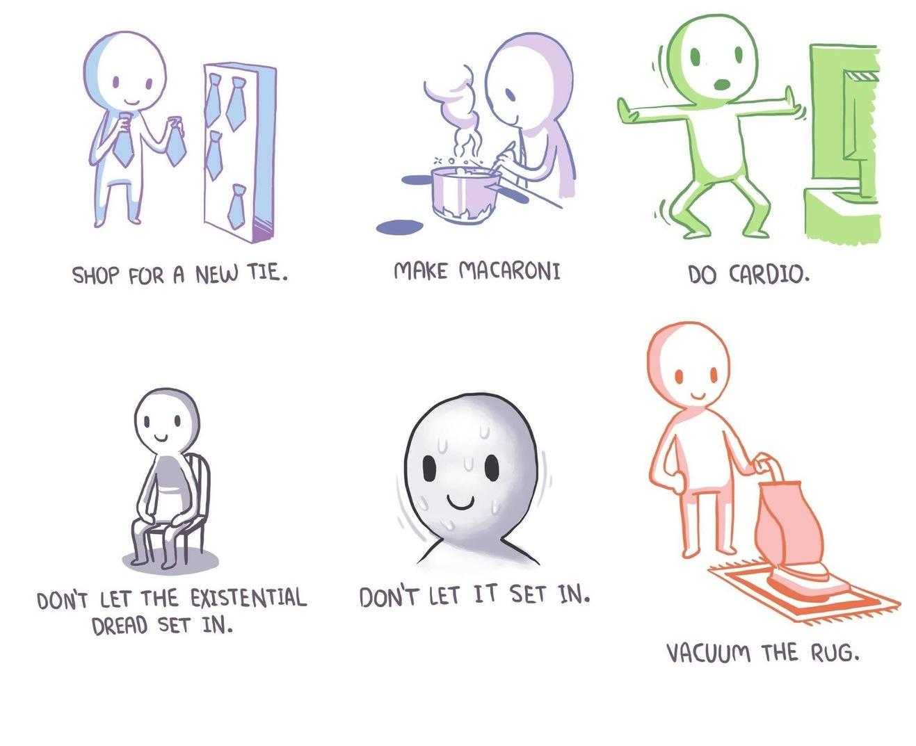 Procrastination 101 - meme