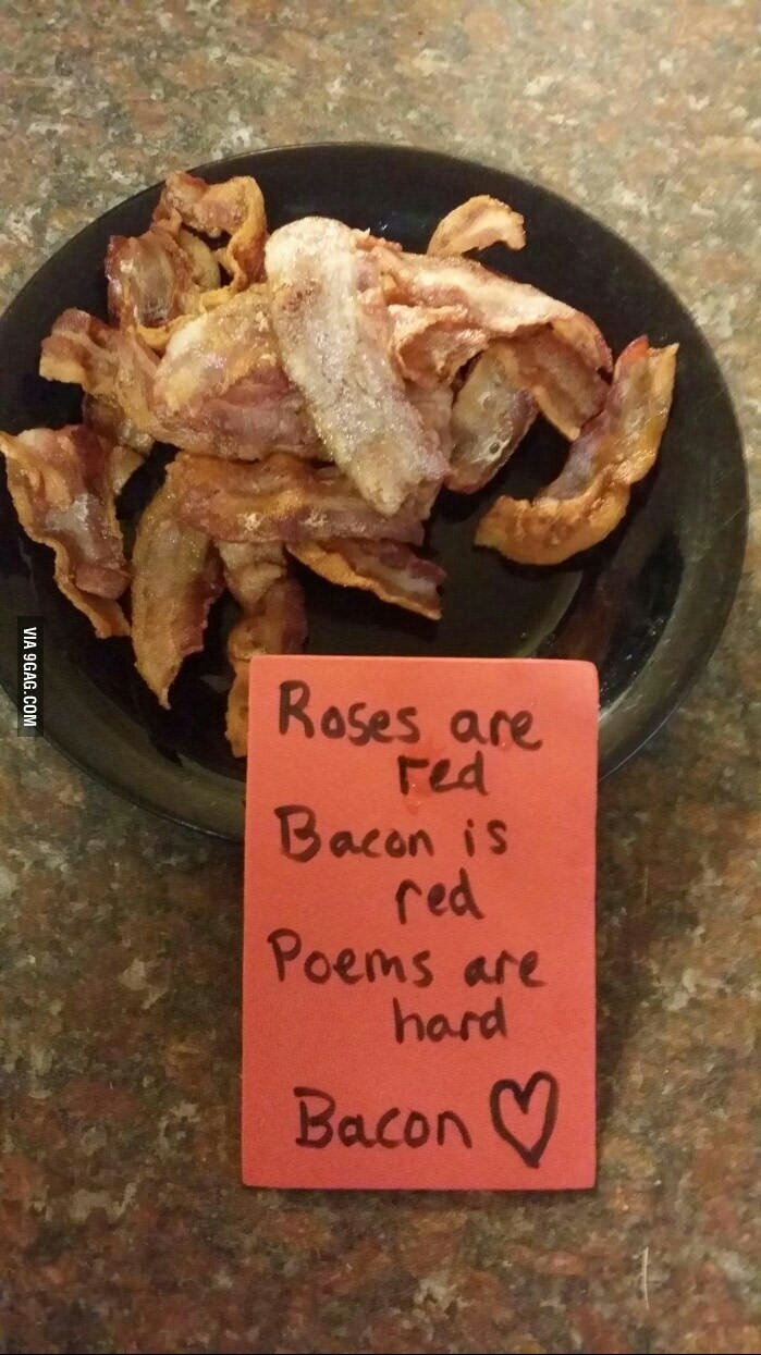 Bacon is life - meme