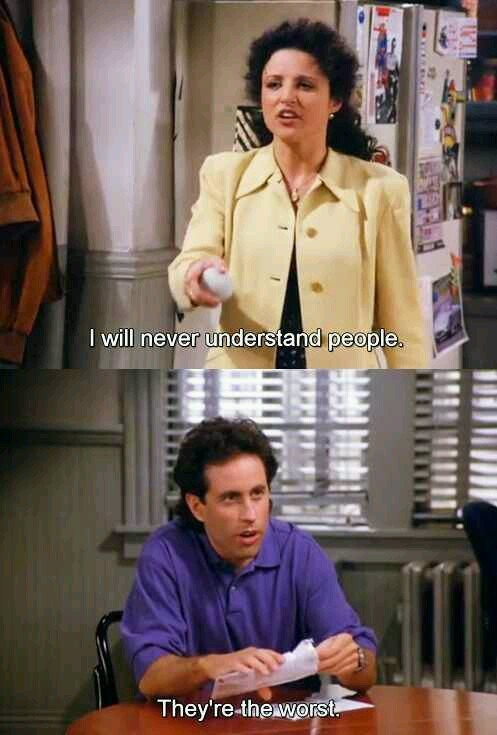 So what's the deal with people? - meme