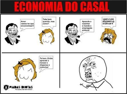 Economia Do Casal - meme